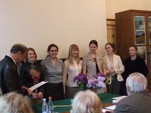 Защита дипломных работ Кафедра Высшей нервной деятельности  Защита дипломных работ 2008